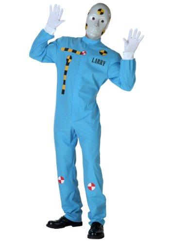 Crash Test Dummy Costume Incredible Crash Dummies Costume X-Large Blue