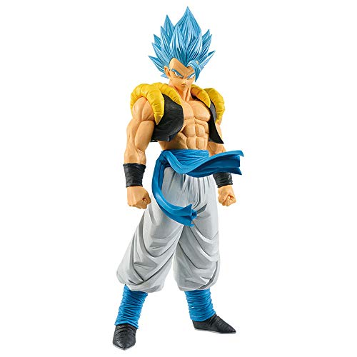 Banpresto DRAGON BALL Movie GRANDISTA Super Saiyan God Blue Gogeta SSGSS Figure Resolution of Soldiers