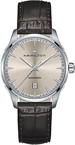 Hamilton Jazzmaster H32475520 - Reloj automático para hombre (80 h, reserva de marcha)