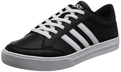 adidas Vs Set, Zapatillas para Hombre, Negro (Core Black/FTWR White/FTWR White 0), 44 2/3 EU