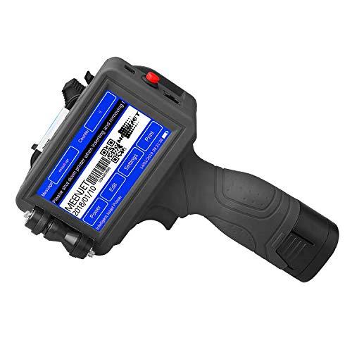 Imprimante D'étiquettes Portable À Main, 600DPI USB Intelligent QR Code Inkjet Imprimante D'étiquettes, pour La Marque Logo Date Graphique Coder Étiquette Etc