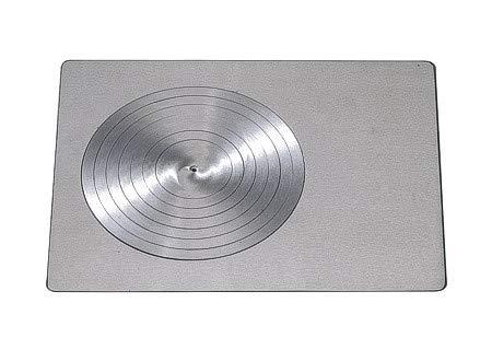 Lincar La Nordica Kochplatte aus Gusseisen komplett mit Kreisen - 495 x 375 mm - K6716