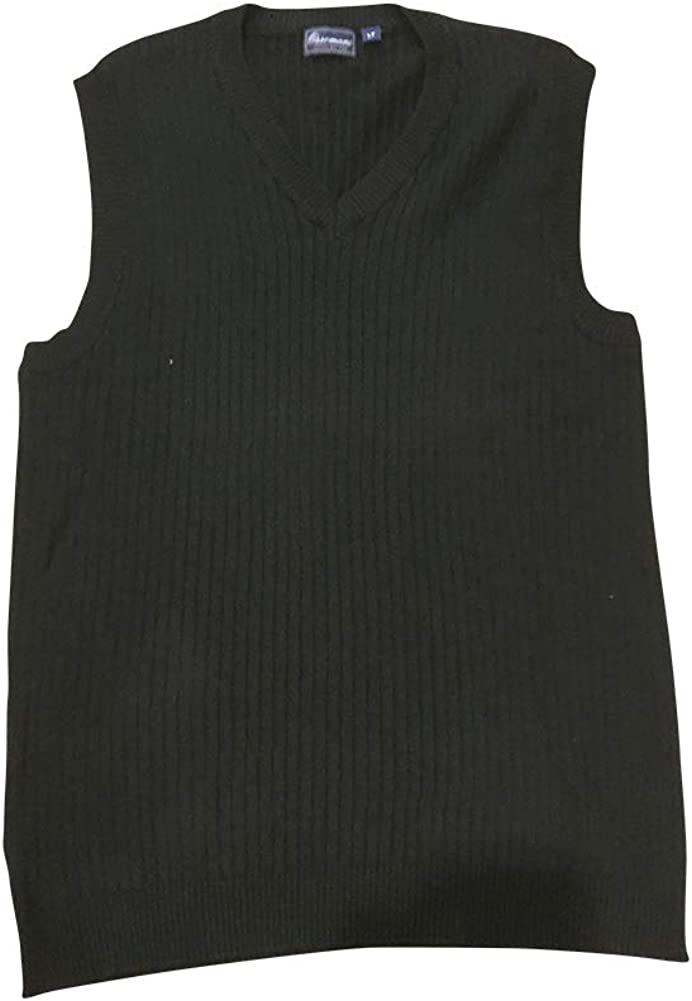 Ossomani Big and Tall Italian Styled Sweater Vest