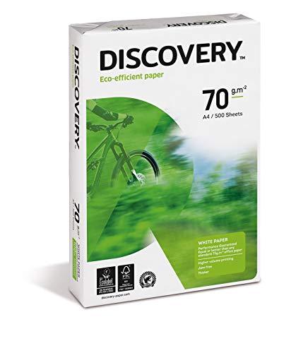Discovery 367060 Confezione 500 Fogli Carta A4
