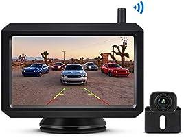 """BOSCAM K7 Drahtlos Digital Rückfahrkamera Set mit Eingebautem Funksender, 5"""" LCD Monitor, Kabellose Rückfahrkamera mit..."""
