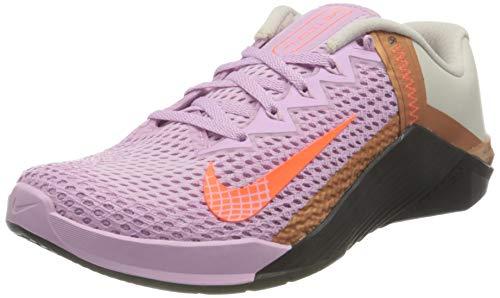 Nike Metcon 6, Correr Mujer, Lt Arctic Pink Hyper Crimson B-Zapatillas de Deporte, 38.5 EU