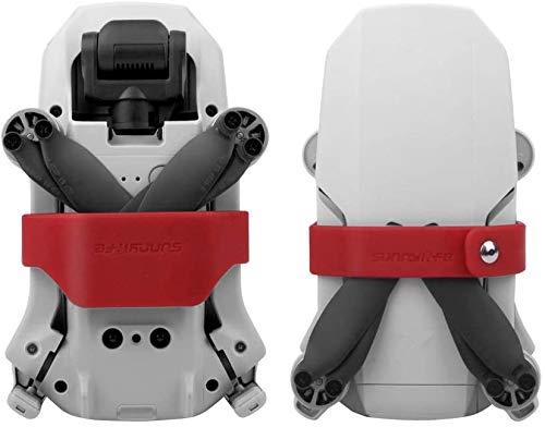 Hensych Propellerhalter Klingenhalterung für Mavic Mini, Silikon Klingenfixierer Stabilisatoren Transportschutz Soft Clip für Mavic Mini Zubehör(rot)