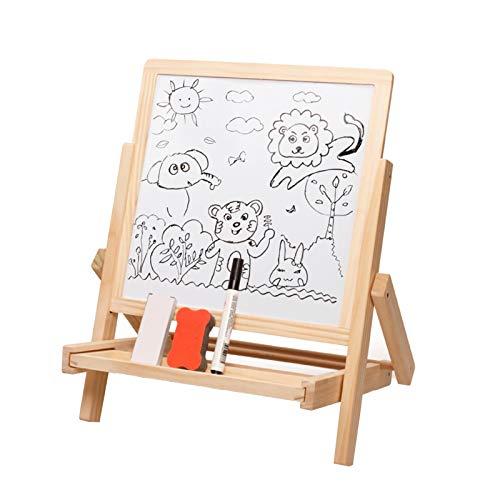 WFF Spielzeug Kinder-Zeichenbrett Spielzeug Staffelei kleine Tafel Hubkonsole Art Haushalts- magnetische Zeichnung Set-Schreibens-Brett-Spielzeug (Color : 3pieces)