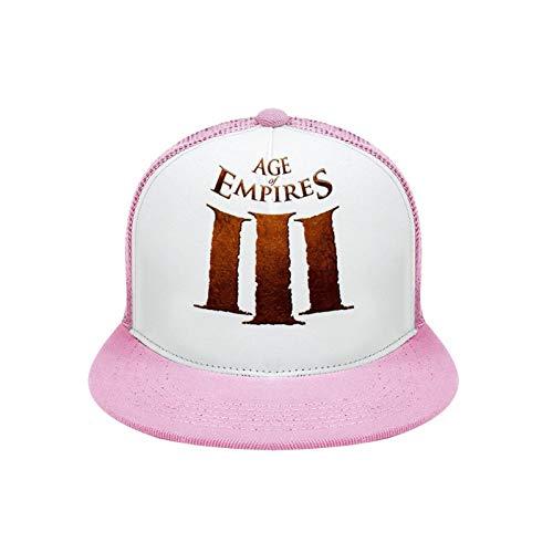 Age Empires (1) Unisex Hip Hop Deep Heather Baseball Caps Pink-style1 Adult Uniform Code