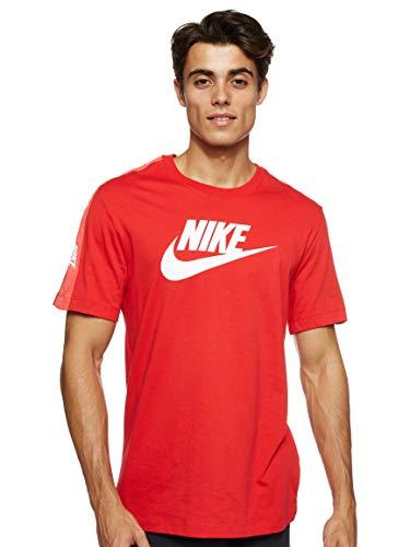 Nike Herren HYBRID T-Shirt, University Red, S