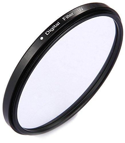 Movoja® [ 49mm UV-Filter | UV-Sperrfilter | UV-Schutzfilter | Lotuseffekt | Ultra-Slim Filter | 16fach beschichteter Spezialfilter |