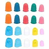 EXCEART 20 Piezas de Protector de Dedos para La Práctica de La...