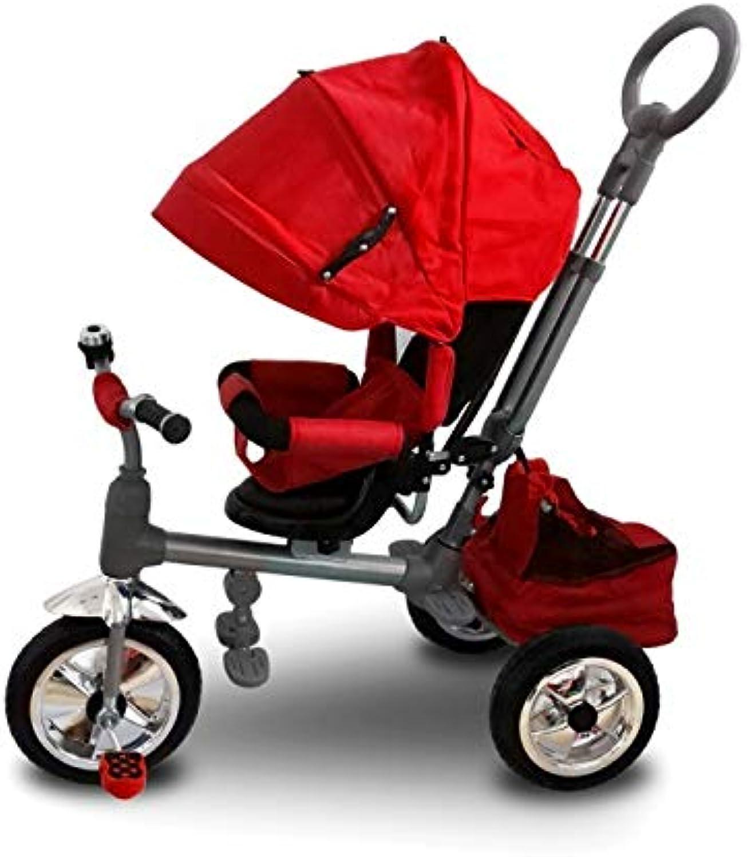 entrega de rayos MWS LT 857 Triciclo Triciclo Triciclo con Pedales para Bebés con Asiento Giratorio Varios Colors (Rojo)  Web oficial