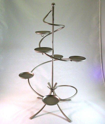 PartyLite Weihnachtliche Kerzenhalter-Dekoration