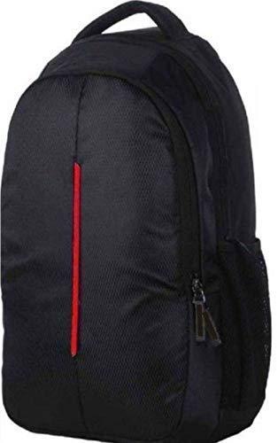 Sceentp - Zaino impermeabile per computer portatile, per uomo, donna, ragazzi, con copertura antipioggia (18 pollici) (34 litri) (nero)