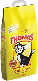 رمل فضلات القطط من توماس، 5 غجم