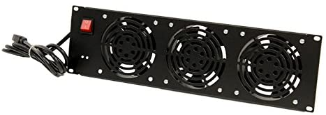NavePoint Rack Large discharge sale Mount Over item handling ☆ Server Cabinet 3 Cooling U System Fan Panel