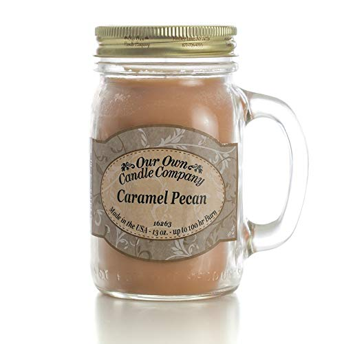 Our Own Candle Company Caramel Pecan Scented 13 Ounce...