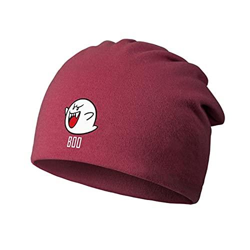 XINGAN Super Mario Hat Mario Luigi delgado Baotou sombreros pila sombreros hombres y mujeres bufanda turbante primavera