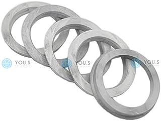 4 X Set anelli di centraggio cerchi in lega 65,0 mm 60,0 mm