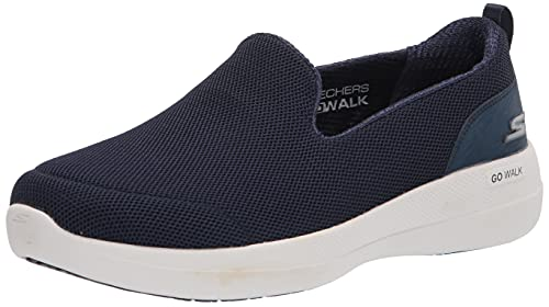 Skechers Damen GO Walk Stability Sneaker, Navy, 38 EU