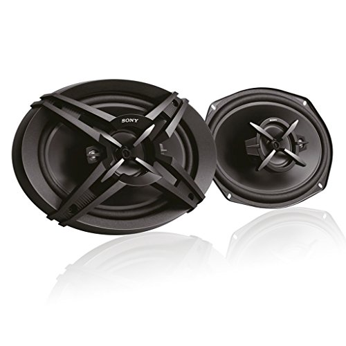 Sony XS-FB693E 3-Way Coaxial Car Speakers (Black) (Size:16 x 24cm)