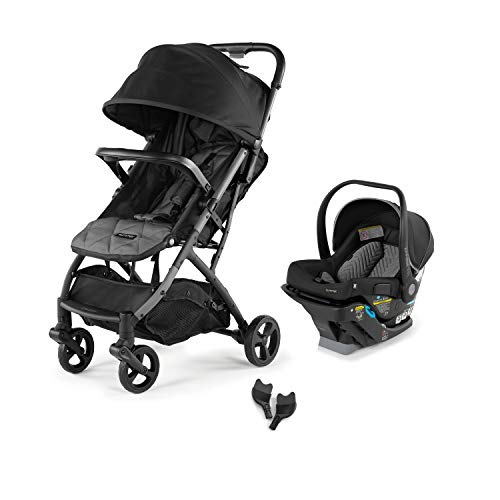 Summer 3Dpac CS Compact Fold Stroller with The Affirm 335 Rear-Facing Infant Car Seat (Onyx Black) and Affirm 335 Infant Car Seat Adapters