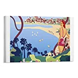 LAMTOR Cannes, Vintage-Poster, Leinwand-Kunst-Poster und