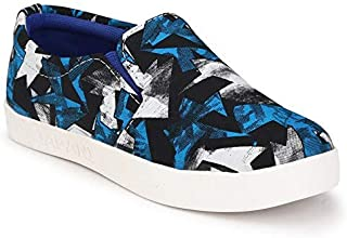 Big Fox Kids ICY Blue Canvas Mocassin