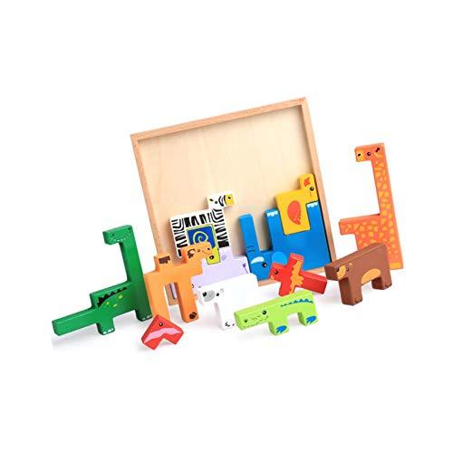 Wenhe Juguete educativo de madera para guardería, juguete educativo para niños