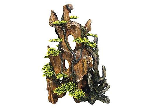 Nobby 28618 Décoration d'aquarium en Bois avec Plantes 25 5 x 14 0 x 34 cm 5 cm