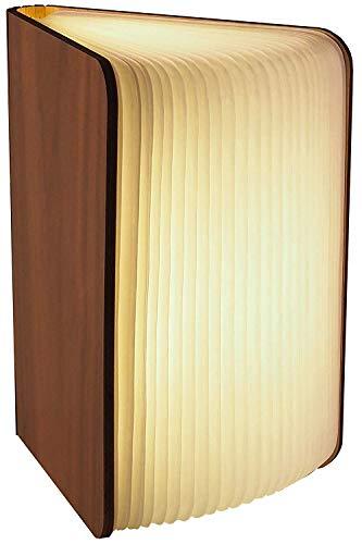 Gadgy ® Lámpara de Libro (Grande) con Cierre Magnético l Papel Tyvek de Calidad l Brilla en 3 Colores l Posibilidades de Posiciones Ilimitadas hasta 360 grados