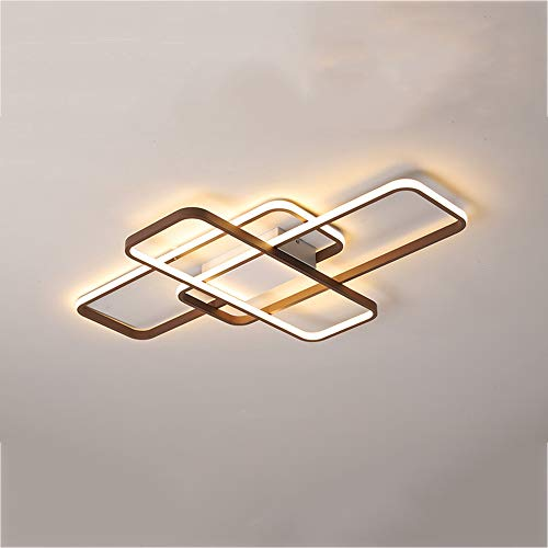 LED Luz de techo Moderno Plafón Regulable Interruptor de pared Metal Lámpara...