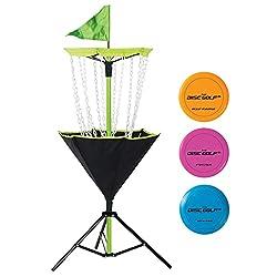 small Franklin Sports Disc Golf Set-Disc Golf-Includes a disc golf cart and three golf discs