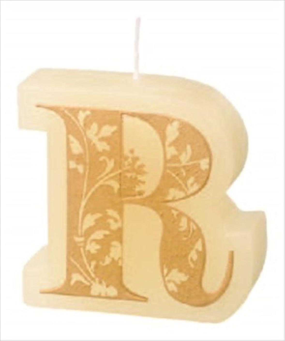 シートなしで推定するカメヤマキャンドル(kameyama candle) イニシャルキャンドルミニ 「 R 」