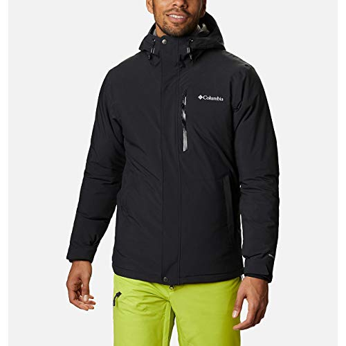 Columbia Winter District Jacket, Giacche (Shells) Uomo, Black, L