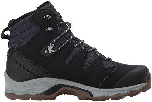 SALOMON Quest Winter GTX, Chaussures de Randonnée Basses Homme, Noir/Bleu (Phantom Black Vapor...
