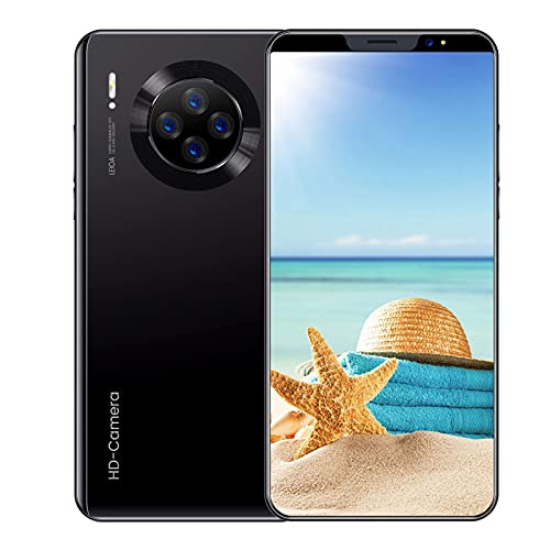 Beautyup MATE36 Teléfono Móvil RAM 4GB + 64GB 3800mah Capacidad Batería 5.8 Pulgadas Teléfono Inteligente Android (Color : Red)