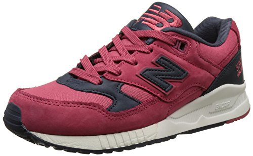New Balance Damen 530 Sneakers, Rot (red), 39 EU