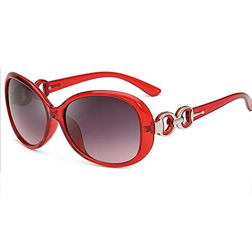 Gafas de Sol Hombre Mujere Retro Aire Libre Deportes Gafas de Sol para de Moda Protección UV400 de Gran Tamaño Golf Ciclismo Pesca Senderismo protección,Red a