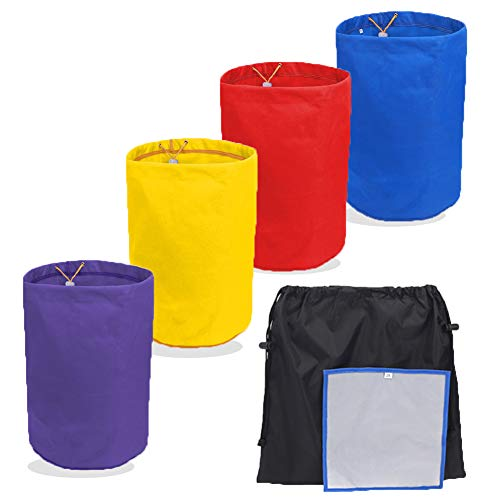 Bubble Bags 5 Gallon 4PCS Waterproof Garden Grow Bag Hash