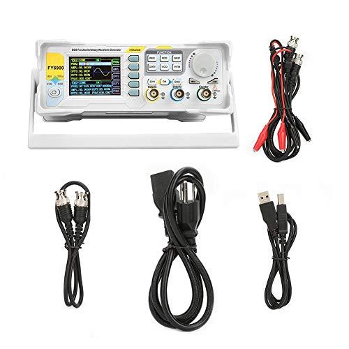 Digital Signal Generator, FY6900-60M 60MHz Multi-Functional Digital Signal Generator Counter Frequency Meter(US)