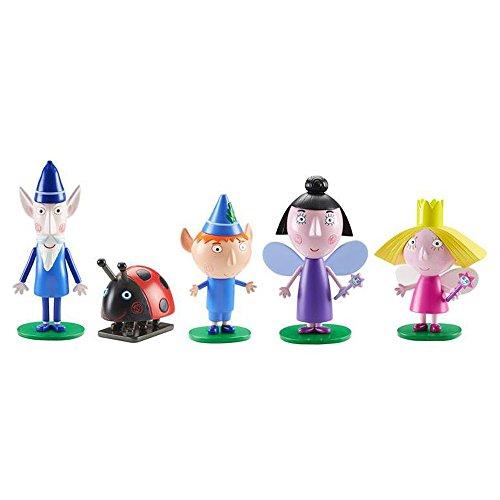 Unbekannt Ben & Holly's kleines Königreich - 5 Figuren Set [UK Import]