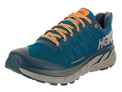 HOKA ONE ONE Men's Challenger ATR 4 Trail Running Shoes (9.5, Mykonos Blue/Legion Blue)