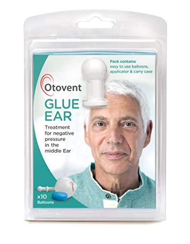 Otovent Adult Autoinflation Device - Treatment for Glue Ear Or Otitis Media with Effusion