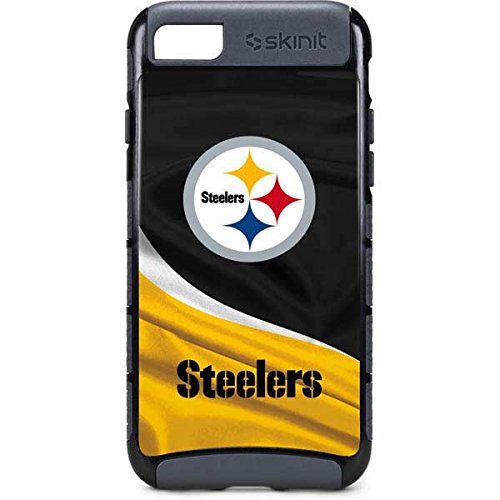 Skinit NFL Pittsburgh Steelers iPhone 7 Cargo Case - Pittsburgh Steelers  Design - Durable Double Layer 1f9c6d766