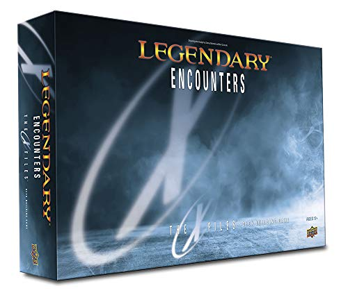 Upper Deck Legendary Encounters: The X-Files Card Game - English