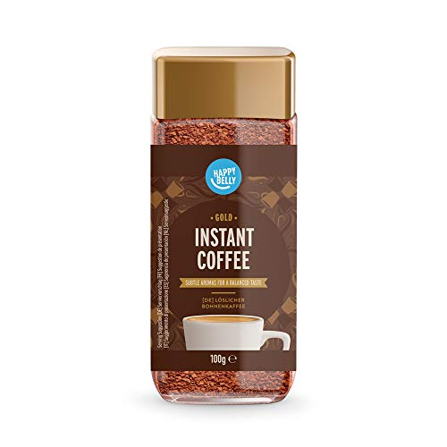 Happy Belly Amazon Brand - Happy Belly Gold Instant Coffee