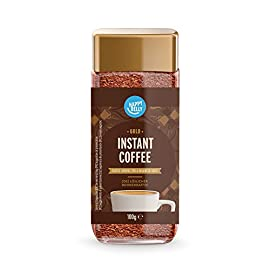 Amazon Brand – Happy Belly Gold Instant Coffee – 100g (1x100g)