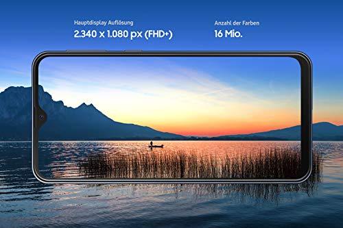 Samsung Galaxy M20 Smartphone (16.0cm (6.3 Zoll) 64GB interner Speicher, 4GB RAM, Charcoal Schwarz) - Deutsche Version [Exklusiv bei Amazon]